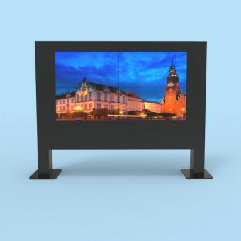 55 inch 2*2 outdoor highlight screen