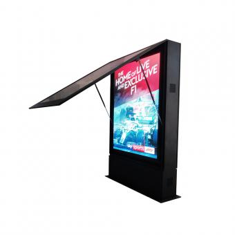 1250 mm * 1750 mm P3.91 LED outdoor double sided digital signage information kiosk totem outdoor